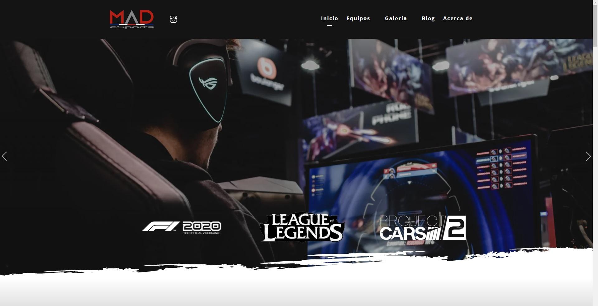 MaD eSports es un una comunidad profesional de deportes electrónicos
